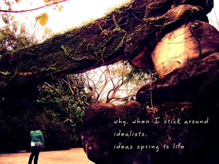 ideas, idealistic, idealists, ideas happen, ideas come to life