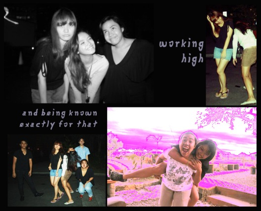 work high, work drunk