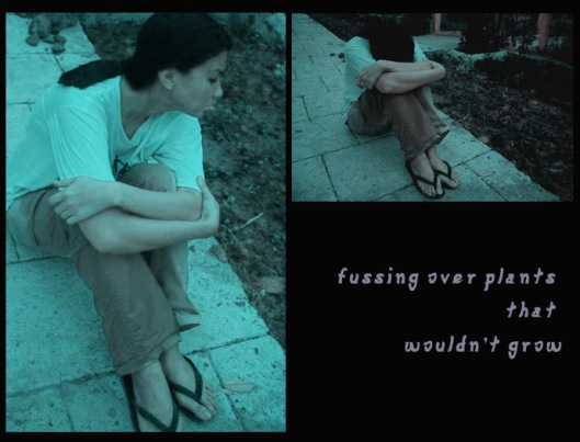 fussing over