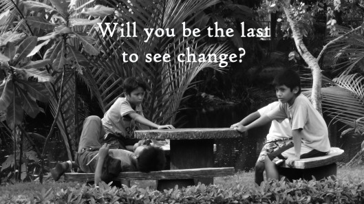 last to see change