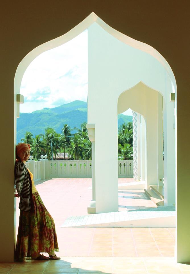 Inside Cotabato City Grand Mosque